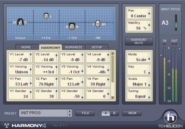 TC-Helicon Harmony4 TDM image 1