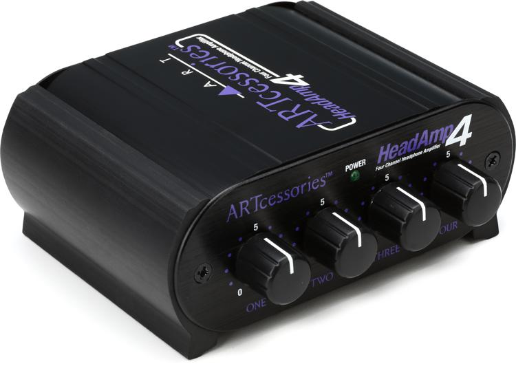 ART HeadAmp 4 4-Ch Headphone Amplifier image 1