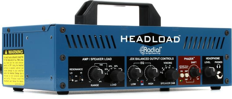 Radial Headload V8 Speaker Load Box with Cab Simulator image 1