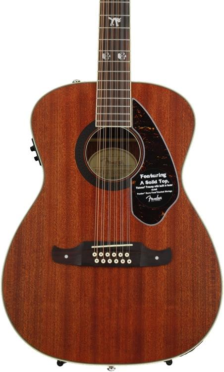 Fender Tim Armstrong Hellcat-12 - Natural Mahogany image 1