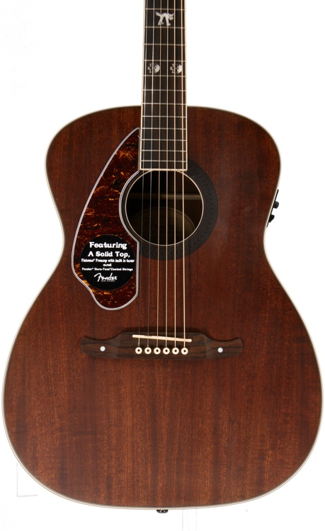 fender tim armstrong hellcat acoustic natural left handed sweetwater. Black Bedroom Furniture Sets. Home Design Ideas