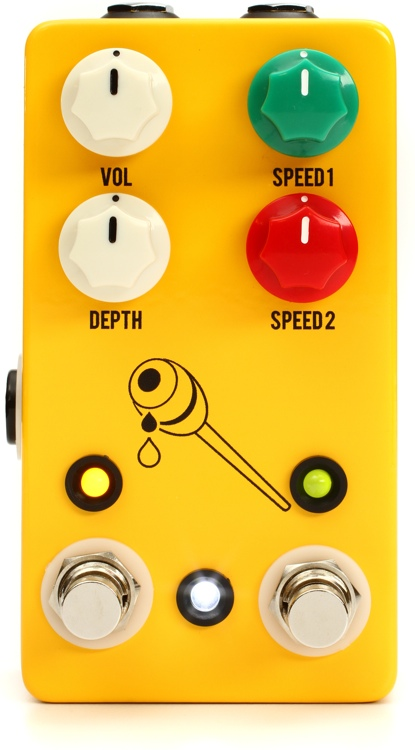 JHS Honey Comb Deluxe Dual Speed Tremolo Pedal image 1