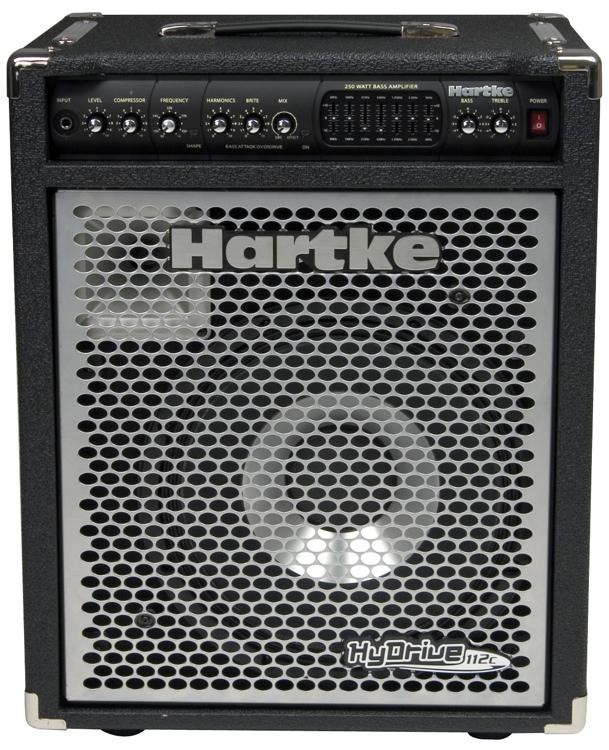 Hartke HyDrive 112C 250 Watt Bass Combo - 1x12