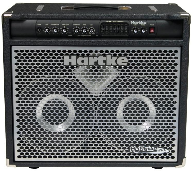 Hartke HyDrive 210C 250-watt Bass Combo - 2x10