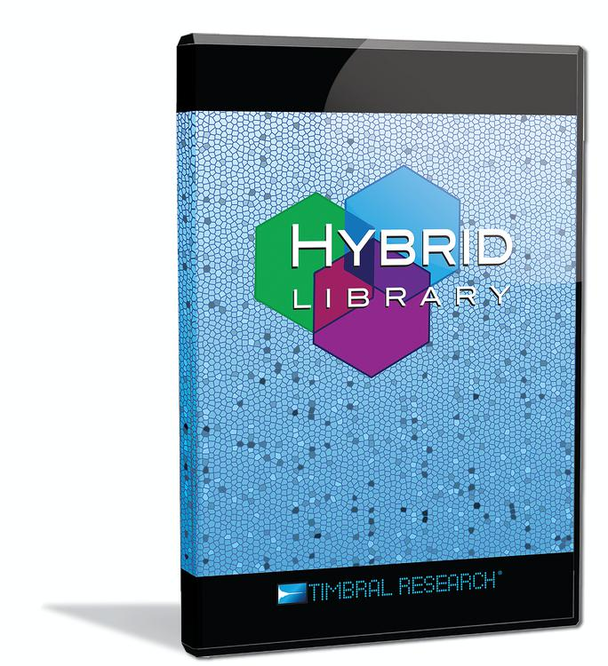 Timbral Research Hybrid Library image 1