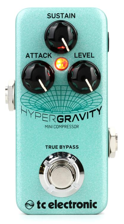 tc electronic hypergravity mini compressor pedal sweetwater. Black Bedroom Furniture Sets. Home Design Ideas