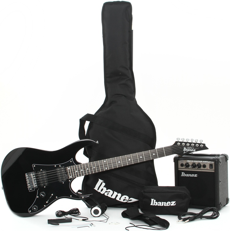 Ibanez IJX200 Jumpstart Guitar Package - Black image 1