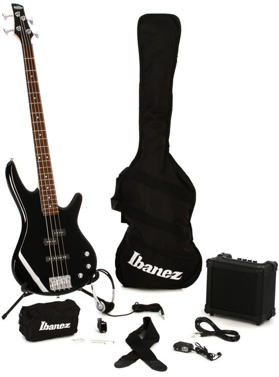 Ibanez IJXB150B Jumpstart Bass Pack - Black image 1