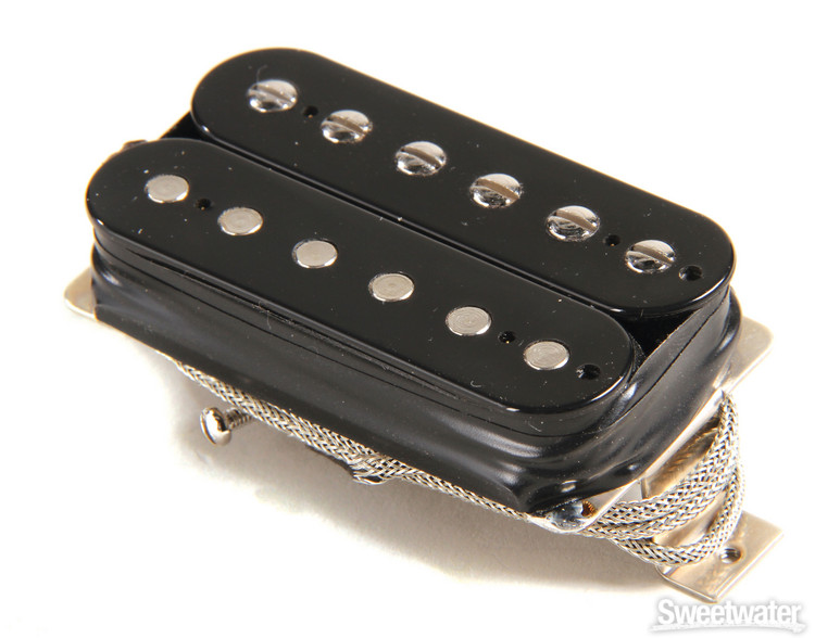 Gibson Accessories Burstbucker Type 1 Pickup - Double Black, Neck or Bridge, 2-Conductor image 1