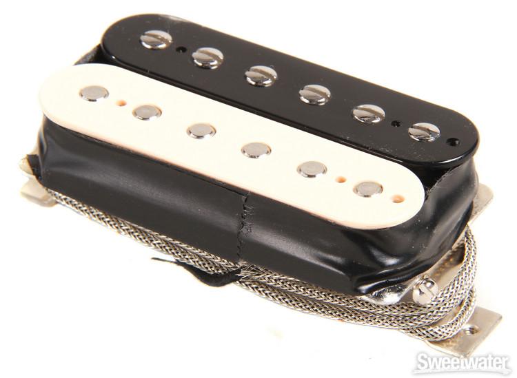 Gibson Accessories Burstbucker Type 1 Pickup - Zebra, Neck or Bridge, 2-Conductor image 1