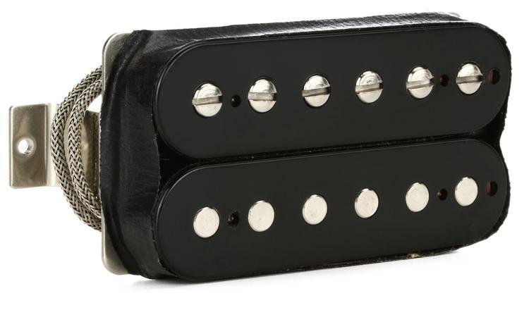 Gibson Accessories Burstbucker Type 2 Pickup - Double Black, Neck or Bridge, 2-Conductor image 1
