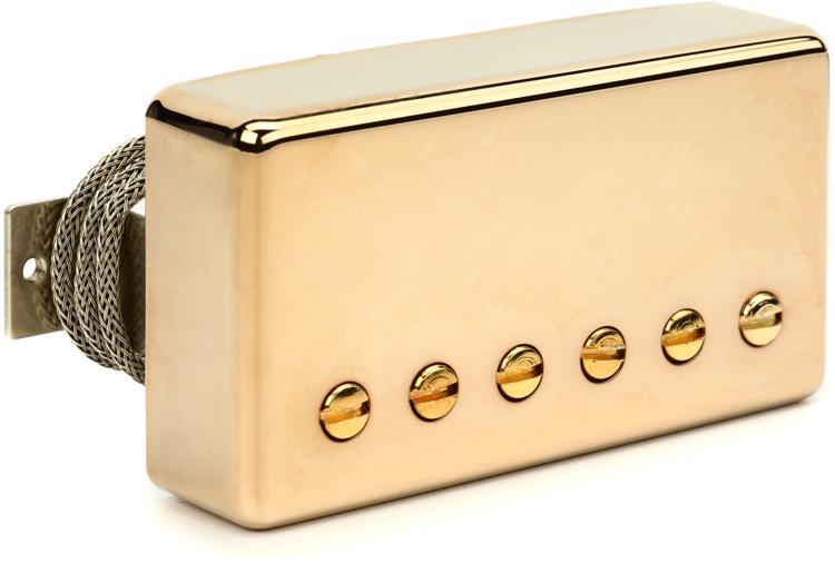 Gibson Accessories Burstbucker Type 2 Pickup - Gold, Neck or Bridge, 2-Conductor image 1