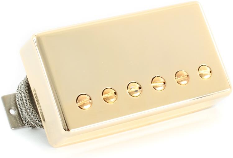 Gibson Accessories Burstbucker Type 3 Pickup - Gold, Neck or Bridge, 2-Conductor image 1
