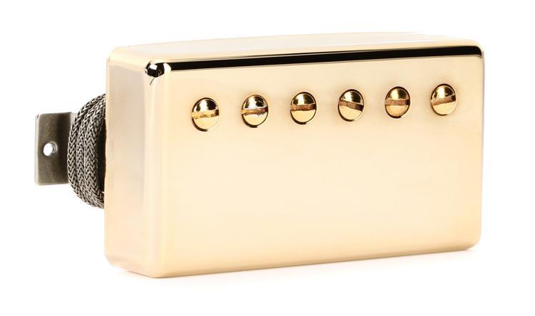 Gibson Accessories Burstbucker Pro Pickup - Gold, Bridge, 2-Conductor image 1