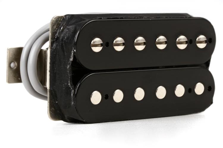 Gibson Accessories 490R Modern Classic Pickup - Neck, Double Black image 1