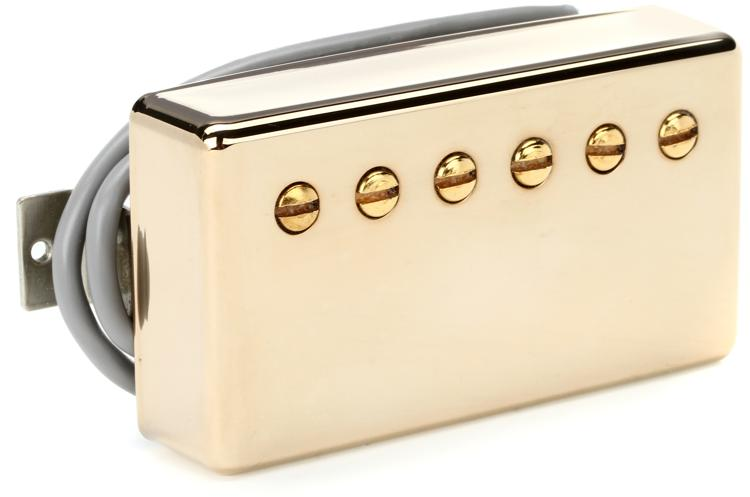 Gibson Accessories 490R Modern Classic Pickup - Neck, Gold image 1