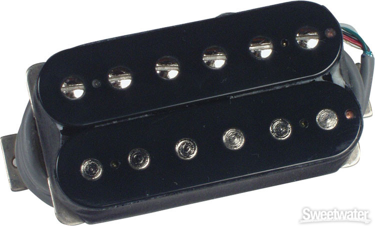 Gibson Accessories 490T Modern Classic Pickup - Bridge, Double Black image 1