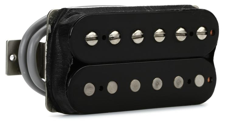 Gibson Accessories 496R Hot Ceramic Pickup - Double Black, Neck, 4-Conductor image 1