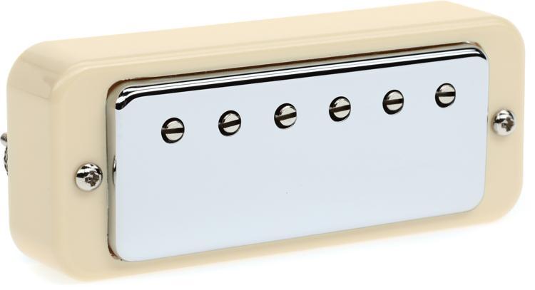 Gibson Accessories Gibson Mini Humbucker Pickup - Chrome, Neck, 2-Conductor image 1