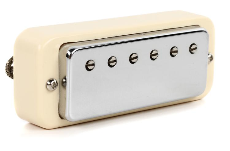 Gibson Accessories Gibson Mini Humbucker Pickup - Chrome, Bridge, 2-Conductor image 1