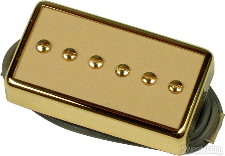 Gibson Accessories P-94R Humbucker-Sized P-90 - Creme w/Gold image 1