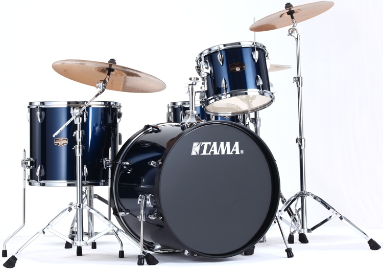 Tama Imperialstar 4-piece Drum Kit - Midnight Blue image 1
