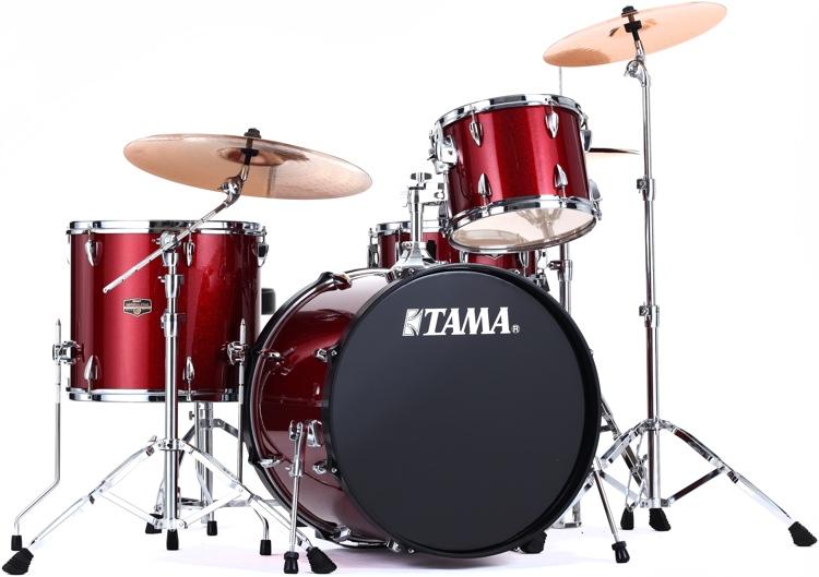 Tama Imperialstar 4-piece Drum Kit - Vintage Red image 1