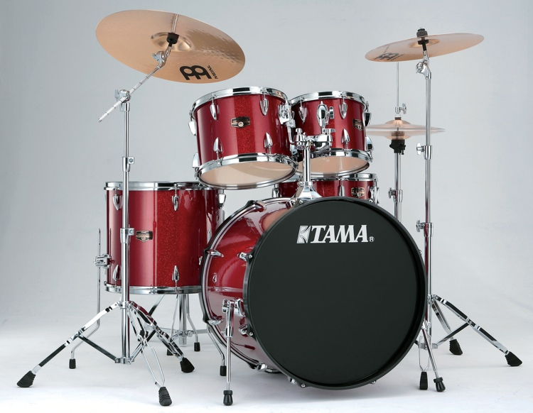 Tama Imperialstar Complete Drum Set - 5-piece - Candy Apple Mist image 1
