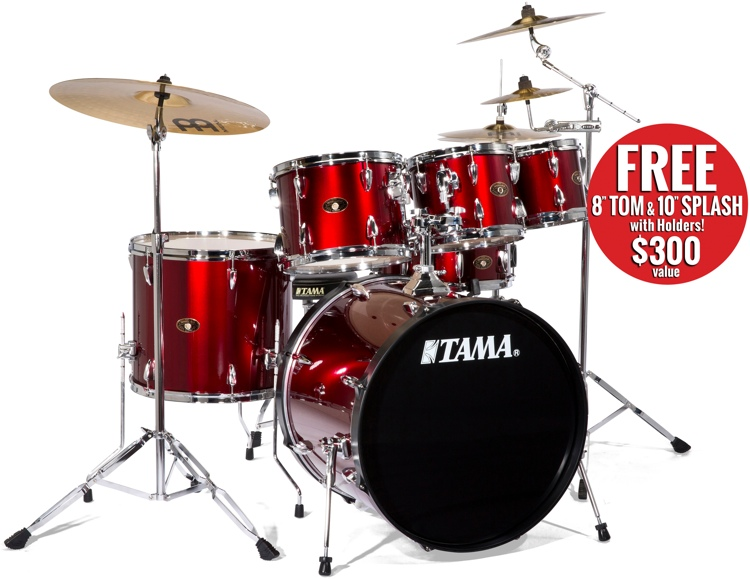 Tama Imperialstar 5 Pc - Vintage Red, 22