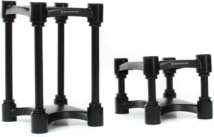 IsoAcoustics ISO-L8R155 Medium Acoustic Isolation Stands (pair) image 1