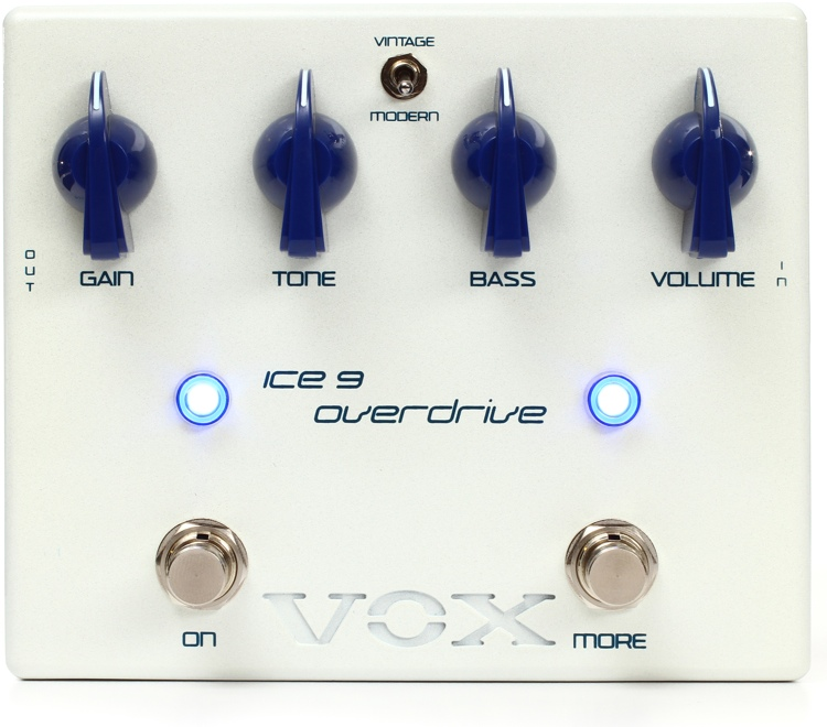 Vox Ice 9 Satriani Overdrive Pedal image 1