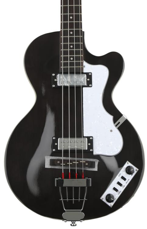 Hofner Ignition Club Bass - Translucent Black image 1
