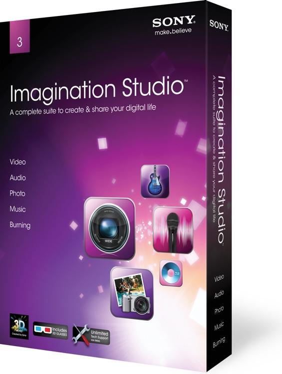 Sony Imagination Studio Suite 3 image 1