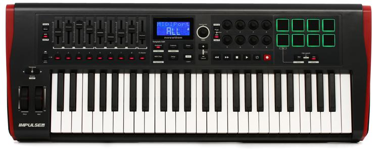 Novation Impulse 49 Keyboard Controller image 1