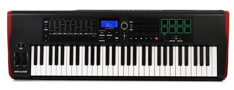Novation Impulse 61 Keyboard Controller image 1