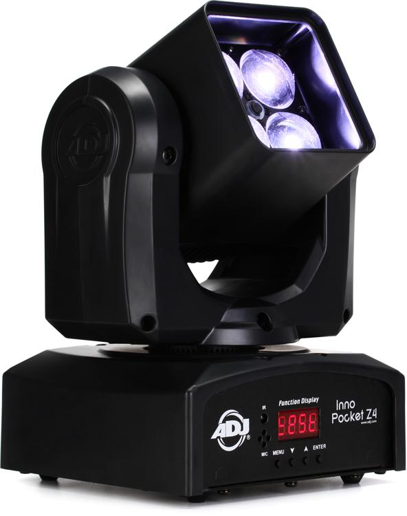 ADJ Inno Pocket Z4 4-LED RGBW Moving-Head Wash w/ Zoom image 1