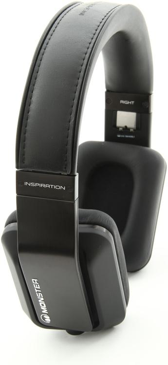 Monster Inspiration Noise Isolating Over-ear Headphones - Passive Noise Isolating, Black image 1