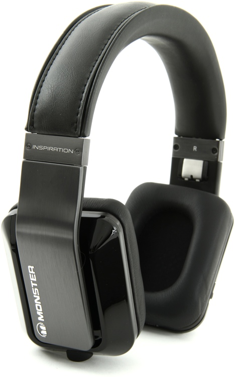 Monster Inspiration - Active Noise Canceling Headphones, Black image 1