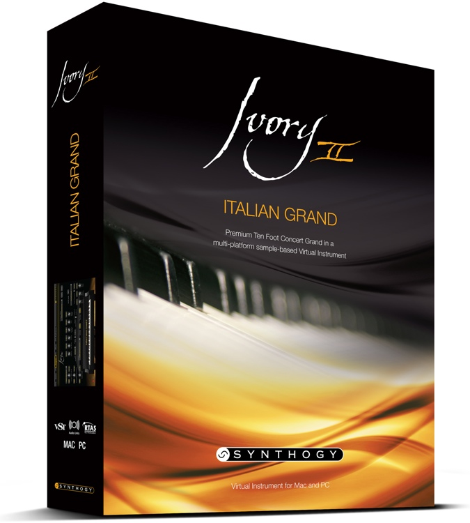 Synthogy Ivory II Italian Grand Upgrade from Version 1.7 (download) image 1