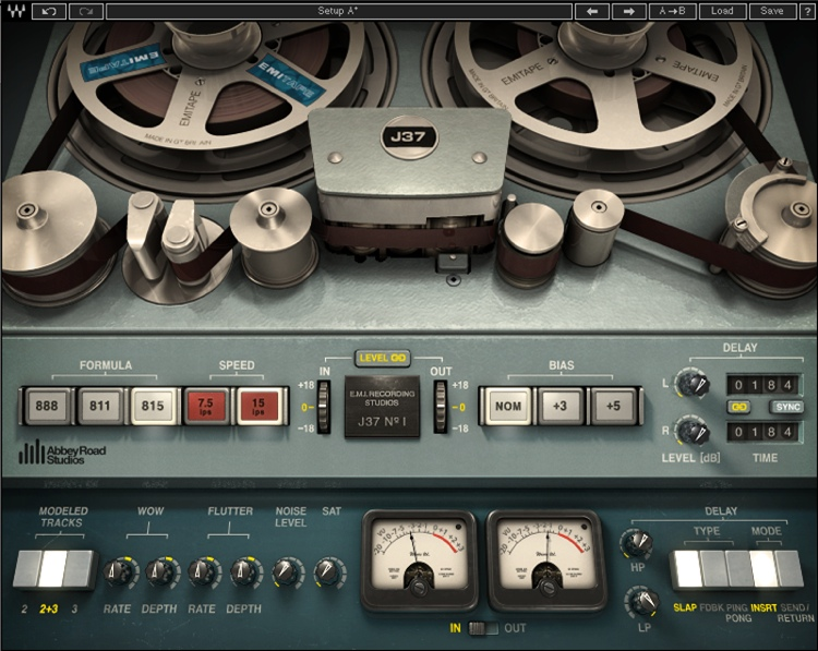 Waves Abbey Road Studios J37 Tape Plug-in image 1