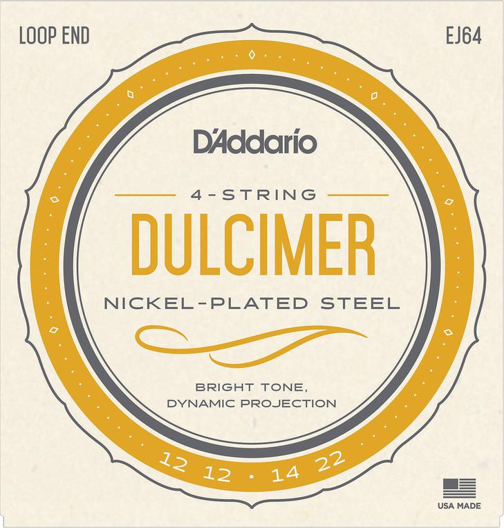 D\'Addario EJ64 Mountain Dulcimer Strings - .012-.022 image 1