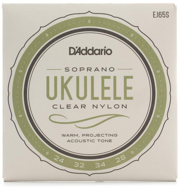 D\'Addario EJ65S Pro-Arte Custom Extruded Ukulele Strings - .024-.034 Soprano image 1