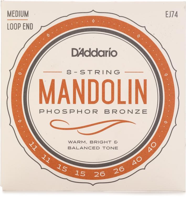 D\'Addario EJ74 Phosphor Bronze Mandolin Strings - .011-.040 image 1