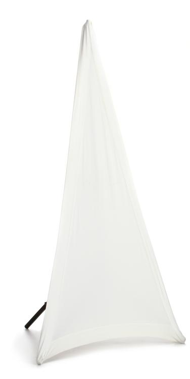 JBL Bags JBL-STAND-STRETCH-COVER-WH-1 - White Stretchy Cover for Tripod Stand, 1 Side image 1