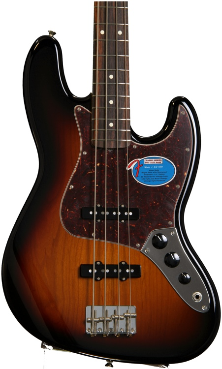 Fender \'60s Jazz Bass - 3-Color Sunburst image 1