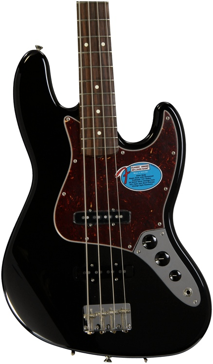 Fender \'60s Jazz Bass - Black image 1