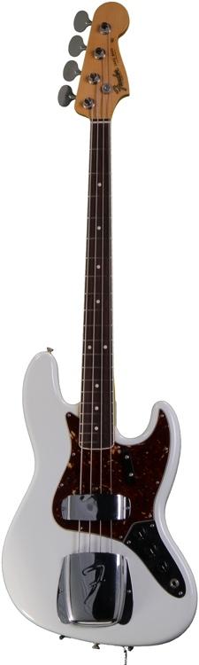 Fender Custom Shop 1966 Closet Classic Jazz Bass - Olympic White image 1