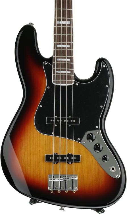 Fender \'70s Jazz Bass - 3-Color Sunburst with Rosewood Fingerboard image 1