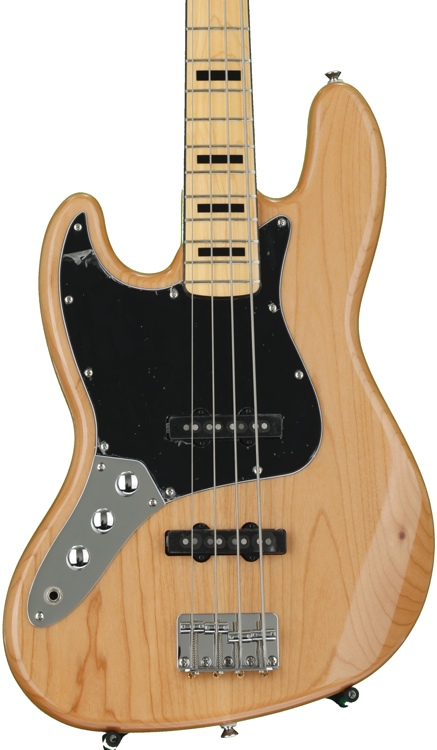 Squier Vintage Modified Jazz Bass \'70s Left-Hand - Natural image 1