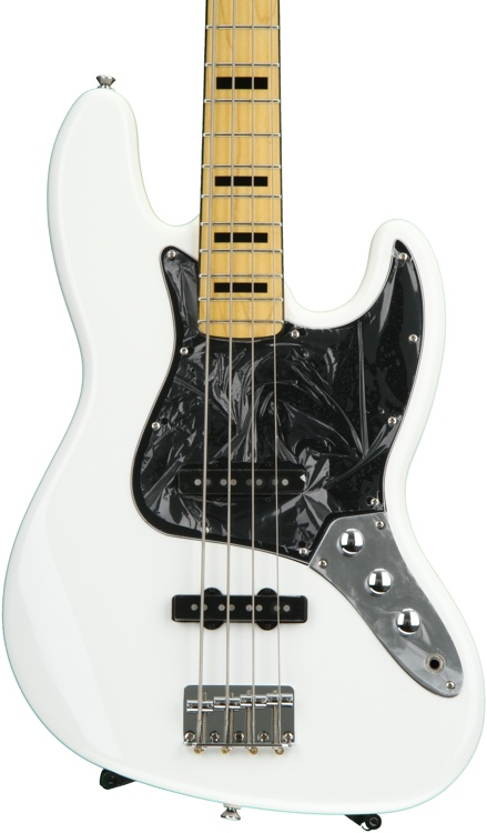 Squier Vintage Modified Jazz Bass \'70s - Olympic White image 1